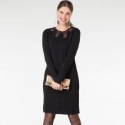 Yest Vacker klänning i svart (Stl: 36, 38, 40, 42, 46, )