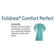 Foliodress műtéti kabát Comfort Perfect körsteril, krepp+törlővel XL 28db