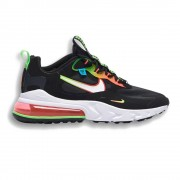 Nike Sneakers Air Max 270 React Se Nero Crimson Uomo EUR 43 / US 9.5