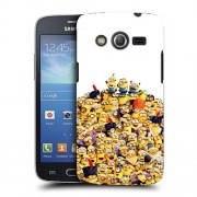 Husa Samsung Galaxy Core 4G LTE G386F Silicon Gel Tpu Model 100 Minions