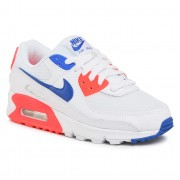 Обувки NIKE - Air Max 90 CT1090 100 White/Racer Blue/Flash Crimson