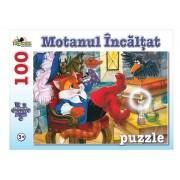 Puzzle Motanul Incaltat, 100 piese