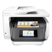 HP OfficeJet Pro 8730 All-in-One Multifunctionele inkjetprinter Printen, Scannen, Kopiëren, Faxen LAN, WiFi, Duplex, Duplex-ADF
