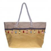 D65 sárga strand táska
