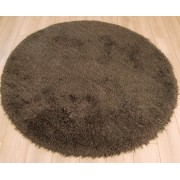Cascade okrúhly koberec 160cm - dymová