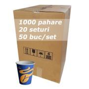 Pahar carton 8oz Tchibo bax 1000buc