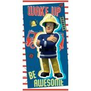 Sam a tűzoltó fürdőlepedő - strand törölköző