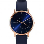 Ceas smartwatch Withings Move Timeless Chic, Albastru/Roz Gold
