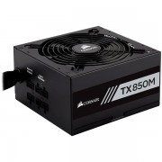 Corsair Enthusiast Series TX850 Watt Modular Power Supply 80 Plus Gold Certified, EU Version CP-9020130-EU