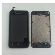 Дисплей за Lenovo A319, LCD with touch and frame, черен