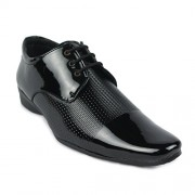 Shoe Island Designer Patent Black Derby Formal Shoes