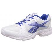 Reebok Men's Speed Up Xt White and Vital Blue Running Shoes - 10 UK/India (44.5 EU)