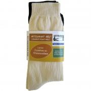 Chaussettes bio lot de 2 paires Artisanat Sel 39 à 44