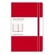 Moleskine Pocket Ruled Notebook Red (Moleskine)(Notebook / blank book) (9788862930000)
