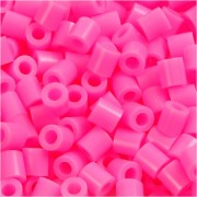 Nabbi Rörpärlor, medium, stl. 5x5 mm, 6000 st., rosa (32222)