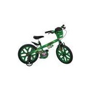 Bicicleta Hulk Bandeirante X-Bike Aro 16, Verde