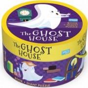 Puzzle 30 piese cu carte - Casuta fantomelor