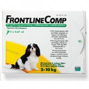Frontline Comp, spot-on, lösning 67 mg/60,3 mg 3 x 0,67 ml