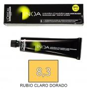 Loreal INOA 8,3 Rubio Claro Dorado - tinte 60grs