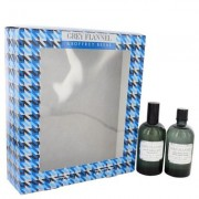 Grey Flannel For Men By Geoffrey Beene Gift Set - 4 Oz Eau De Toilette Spray + 4 Oz After Shave --
