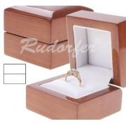 Fa gyűrűtartó doboz