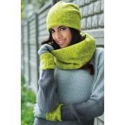 Дамски ръкавици Cornelia зелени