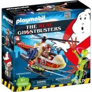 Playmobil Cazafantasmas Cazafantasmas- Venkman Con Helicóptero Playmobil