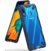 Husa Samsung Galaxy A30 2019 Ringke FUSION X Transparent Albastru