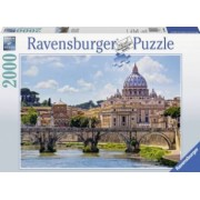 Puzzle PODUL SANT ANGELO ROMA 2000 piese Ravensburger