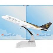 UPS Boeing 747 16cm Metal Airplane Models Birthday Gift