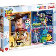 Puzzle Toy Story 4 Clementoni 3x48 piese
