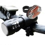 TRIBALSENSATION Luz De Bicicleta Q5 7w 450lm Cree - Conjunto De Iluminao Para A Fr