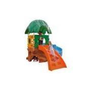 Playground Xalingo Casa na Árvore, Colorido