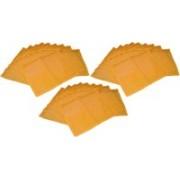 Ajabh High Quality Pack of 35 Yellow Bridal Single saree travelling bag case Gift Organizer bag vanity pouch Keep saree/Suit/Travelling Pouch(Yellow)