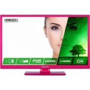 Televizor LED 61cm Horizon 24HL7122H HD Roz 3 ani garantie