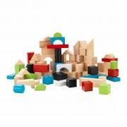 KidKraft Byggklossar set 100 delar trä 63242