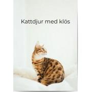Optimalprint Fotoposter djur, 1 st, djur, katt, affisch, svart, Optimalprint