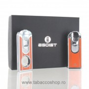 Set Egoist Cigar Smoking Orange bricheta si cutter