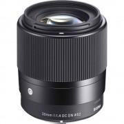 Sigma 30mm Obiectiv Foto Mirrorless F1.4 DC DN Canon EF-M