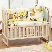 ER 100*110*58cm/60cm 5pcs/Set De Ropa De Cama De Algodón De Promoción Baby Niños Set - Multicolor