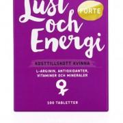 RFSU Lust & Energi Kvinna 100 tabletter