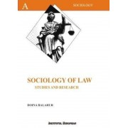 Sociology of law. Studies and research