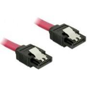 Kabel DELOCK, interni SATA, 6Gb/s, 50cm, crveni