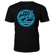 Own Brand Geek Since 1980's T-Shirt- Black - L - 1988