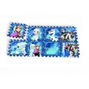 Knorrtoys - Covoras Puzzle Frozen, Frozen Night, 8 buc