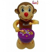 OH BABY The Happy Monkey Drummer With Light Music FOR YOUR KIDS SE-ET-82