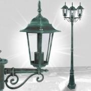 Zahradní lampa GARL02 > varianta zelená