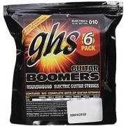 GHS Strings GBL-5 Guitar Boomers Nickel-Plated Electric Guitar Strings Light 6 Pack (.010-.046)