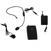 Set 2 microfoane wireless tip lavaliera si Over-head WVNGR WG-2011