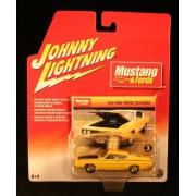 Johnny Lightning Mustang & Fords 1969 Ford Torino Talladega Yellow #3